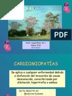 Cardiomiopatías II hora 2012