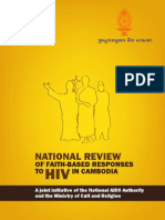 National review of faith-based responses to HIV in Cambodia (English)