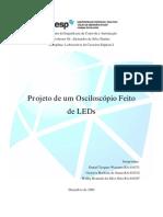 Osciloscópio de LEDs