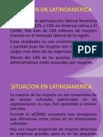 Mujeres Directivas en Latinoamerica Sobre Determinantes