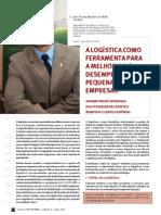 Artigo - A Logistica Como Ferramenta Para a Melhoria de Desempenho Nas Peq