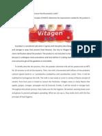 Report Vitagen