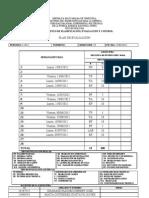 PLAN DE EVALUACION_I-2012 - Mecánica de Fluidos