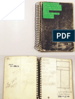 Fred Seibert's gray notebook 1972