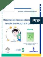Resumen GPC Asma