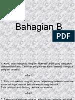 Soalan UPSR 012 Bahagian B