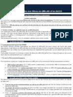 Les aides aux élèves en difficulté et les RASED - Pôle Etudes des Jeunes de l'UMP - www.jeunesump.fr