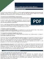 Un système scolaire plus juste et plus efficace - Pôle Etudes des Jeunes de l'UMP - www.jeunesump.fr