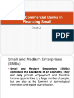 Role of Commercial Banks in Financing Small