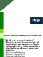 World Economies Survey