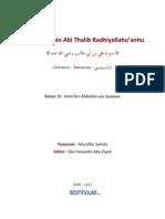 Biografi Ali Bin Abi Thalib