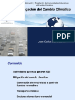 Mitigacion Del Cambio Climatico
