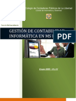 Curso Gestion de Contabilidad en Ms Excel (Mayo 2009)