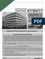 Auditor Federal de Controle Externos- TCU2011 - PROVA P1