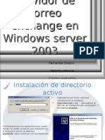 Manual de exchange server2003 enterprise