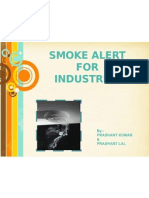 Smoke Alert for Industries Ppt