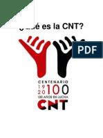 Qué es la CNT