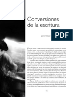 Conversiones de la escritura (Reseña de Mudanza de V. Guerber)