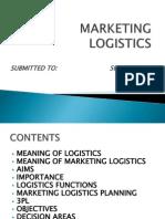 49689538 Marketing Logistics