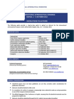 IAC-2012 Abstract Submission Guidelines