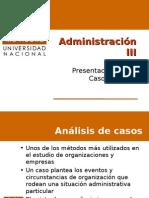 ADM III Presentación Casos