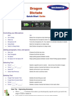 Dragon Dictate for Mac V2+ Quick Start Guide