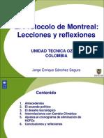 El Protocolo de Montreal-Colombia