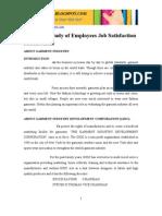 EmployeeJobSatisfaction Garment Industry