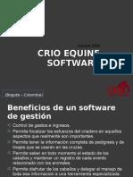 CRIO Equine Software GENERAL