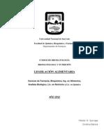 Legislacion Alimentaria 2012 (1)
