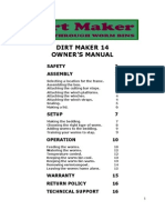 Dirt Maker 14 Manual