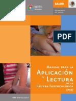 Manual Para La Aplicacion y Lectura de La Prueba Tuberculina PPD