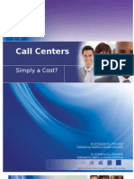 Call centers do more then answer calls. Importance of call centers to business.