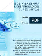 Sitios de Interes para el curso virtual de Diseño Editorial