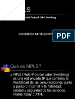 Mpls & Ngn Expo(Telecom) Multi-Protocol Label Switching
