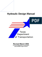 Hydraulic Design Manual-Texas DOT