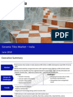 Ceramic Tiles Market in India 2010-Sample