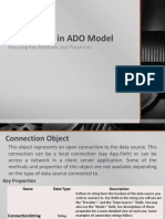 Chapter 3 - Key Objects in ADO Model
