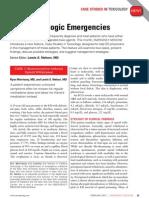 Two Toxicologic Emergencies