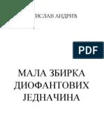 Mala Zbirka Diofantovih Jednacina - Vojislav Andric