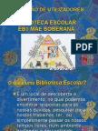 Biblioteca Escolar Mãe Soberana Formação de Utilizadores