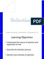 Selection Abridged Ppt