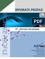 Corporate Profile Adiyasa 2011