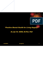 Positive Mental Health for Living Happily