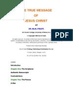 The True Message of Jesus