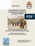 Population CentricCounterinsurgency