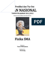Try Out Un 2012 Sma Fisika Paket 11