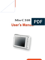 Mio C310 English Manual