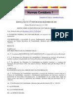 Resoluções do CFC nº 750-1993