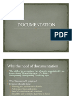 Documentation for Statutory Audit